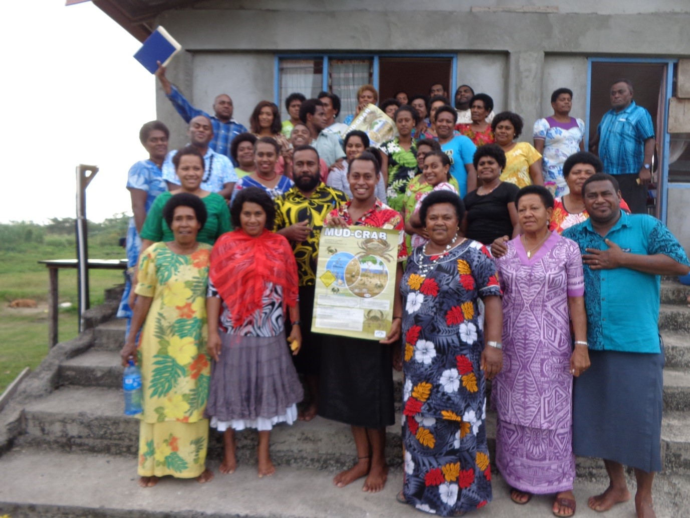Tavua Mud Crab Workshop June 2017 _Group photo